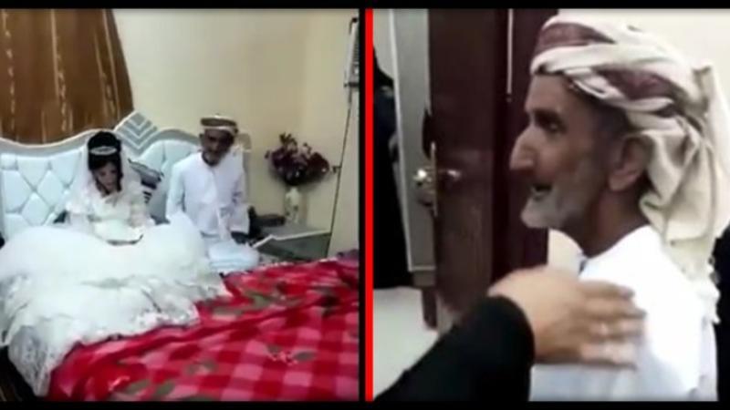 80 yaşlı kişi evləndiyi 12 yaşlı qızı yataq otağına saldı və... - DƏHŞƏTLİ TOY - VİDEO