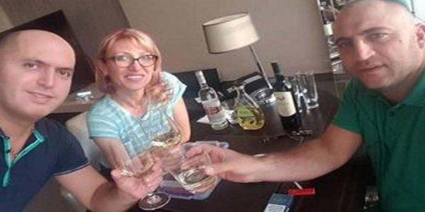 Erməni deputatların Bakıda içki keyfi - FOTO