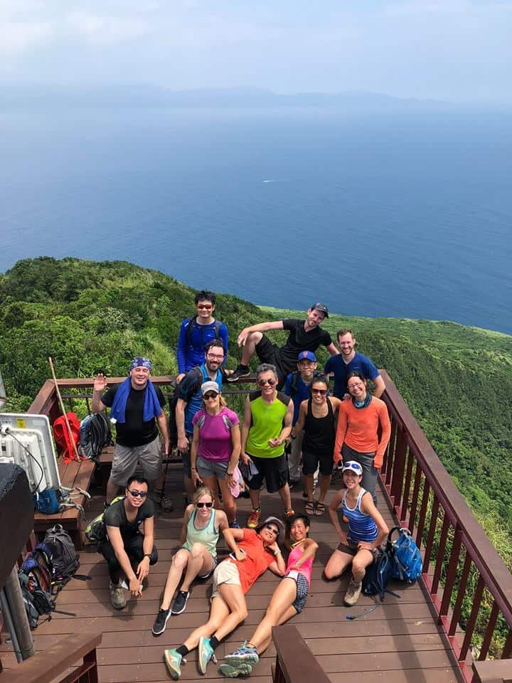 The Taipei Hikers on Turtle Island, Taiwan