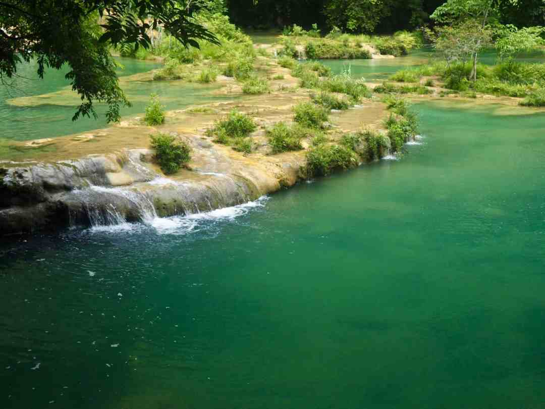 The water of Semuc Champey