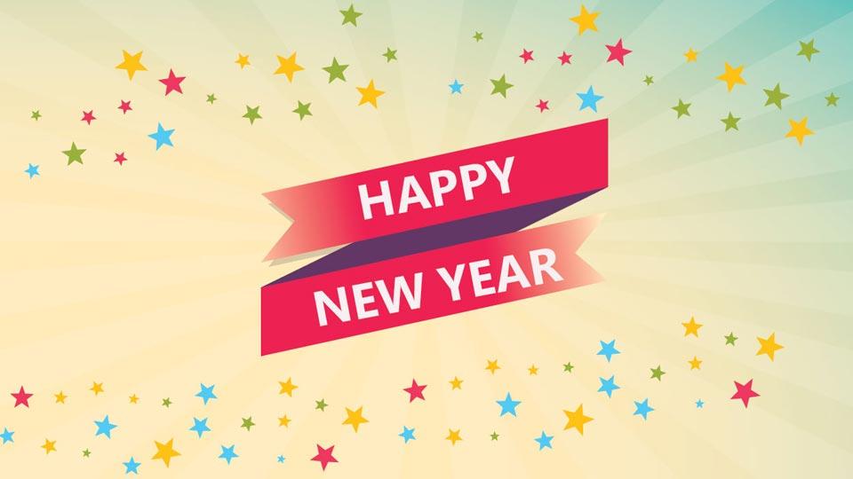 Happy New Year Header