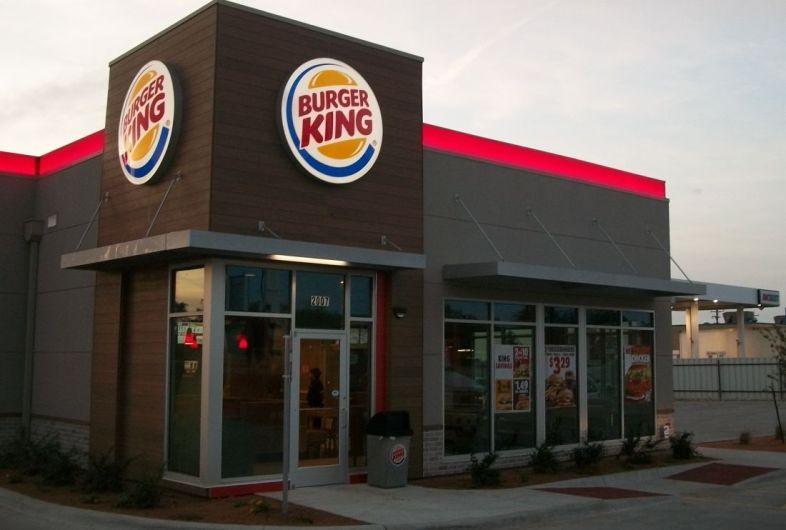 Burger King Front Entrance