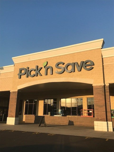 Pick n Save Channel Letters