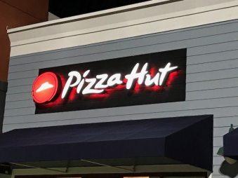 Pizza Hut Channel Letters