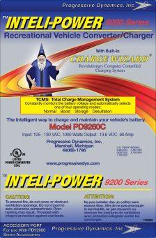 Cummins Label - intelli-power 9200 label