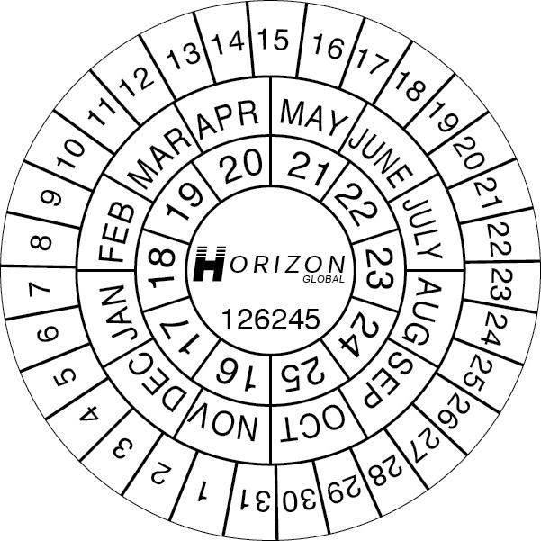 Cummins Label - Horizon Global label