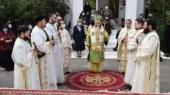 Ceremonie religioasă la Cumpăna, oficiată de Arhiepiscopul Tomisului. FOTO Primăria Cumpăna