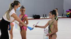 Gimnaste de la CS Victoria Cumpăna, medaliate la campionatul național. FOTO Cumpana News