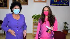Mariana Gâju și antrenoarea Elena Vlad de la CS Victoria Cumpăna. FOTO Cumpăna News