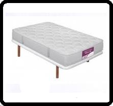 Mi cama es una base tapizada