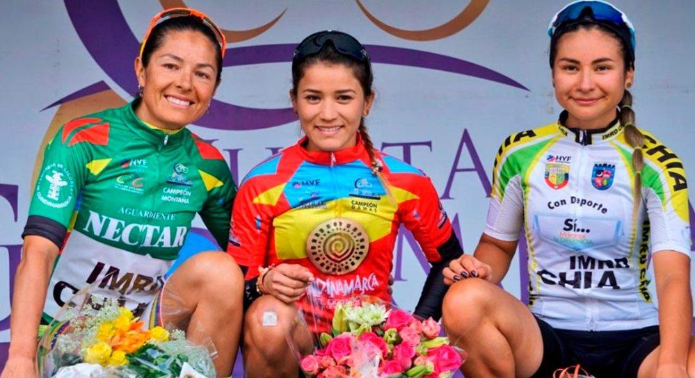 Participación de equipos femeninos en la Vuelta a Cundinamarca.