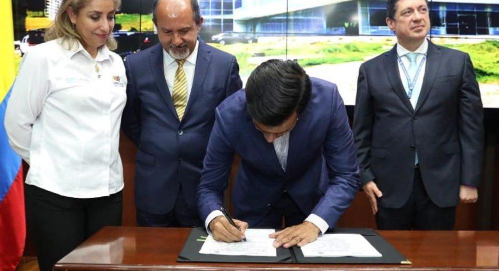 Firma convenio Hospital regional Zipaquirá
