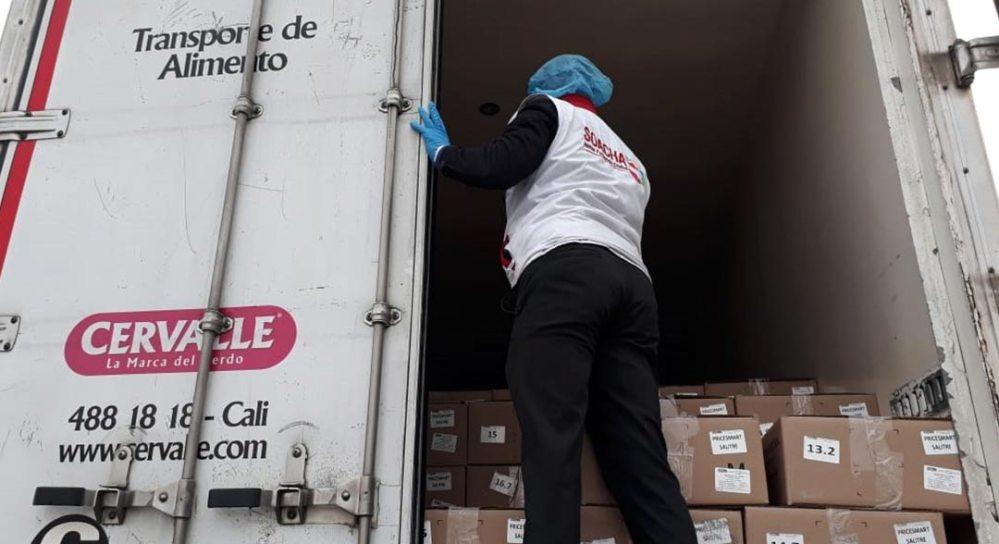 Operativos de Revisión de camiones transportadores de alimentos refrigerados.