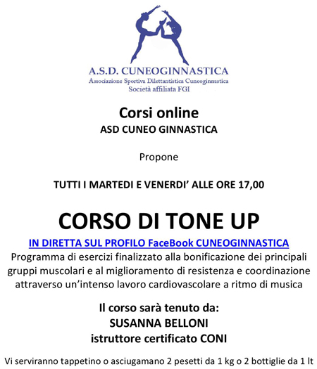 TONE UP ONLINE