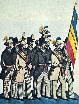 Revoluționari români, la 1848