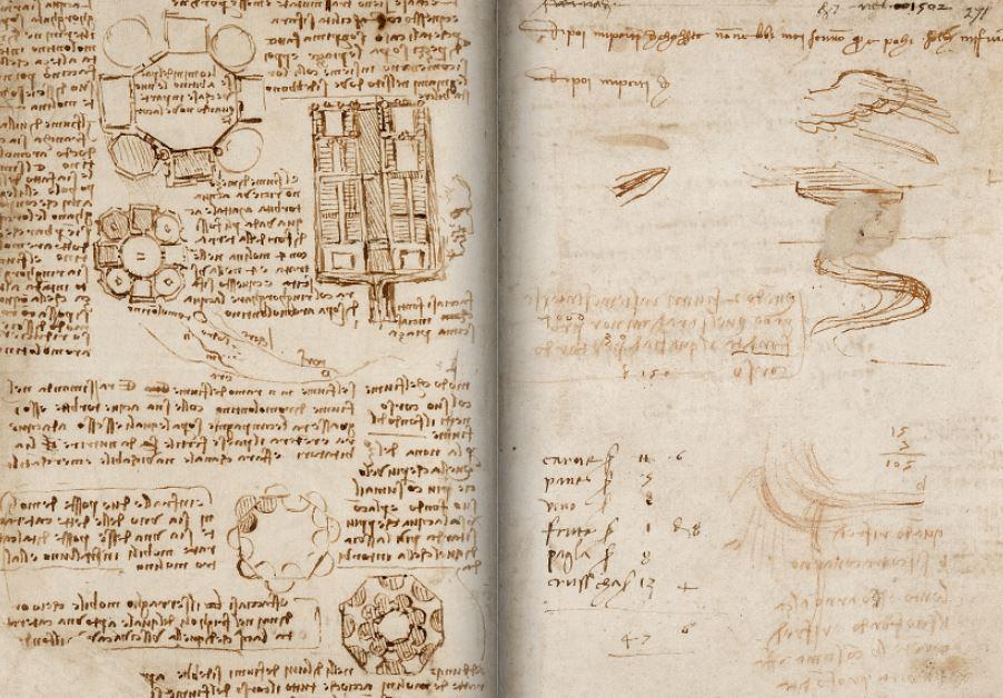 Leonardo-da-vinci-ancient-manuscript