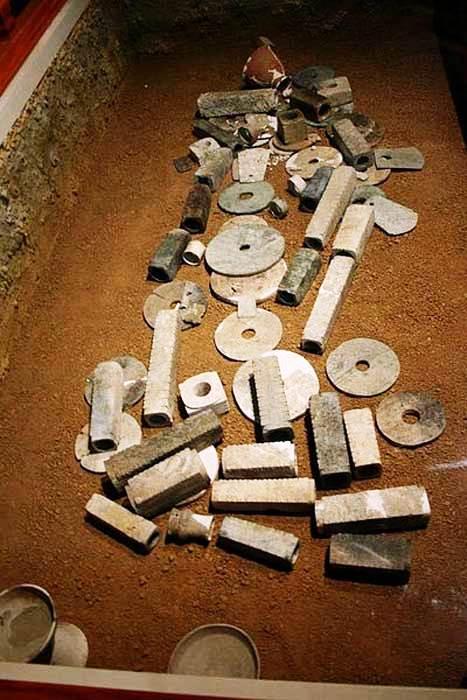 artefacte, cultrua Yangzhou