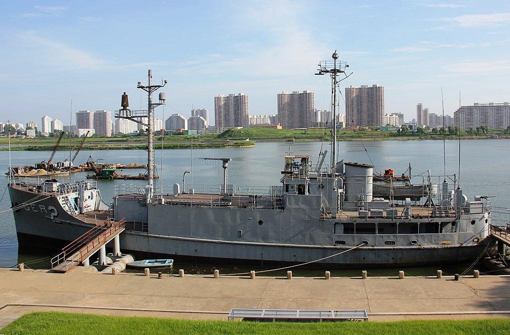 USS Pueblo, 2012