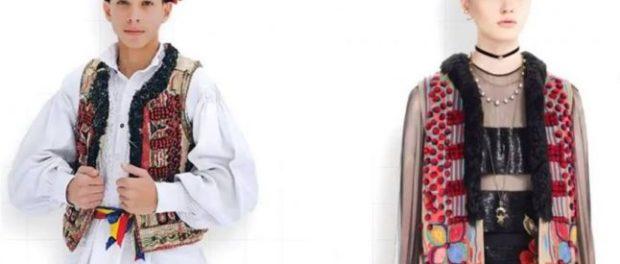 017661de0d Un cojoc tradiţional din Bihor a ajuns să fie copiat de celebra companie  franceză Christian Dior
