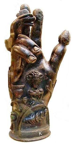 Mâna lui Sabazius - British Museum