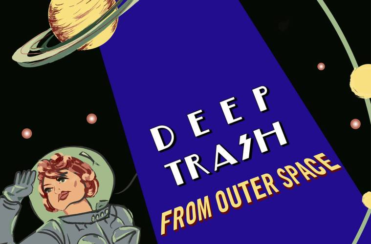 open-call-deep-trash-outer-space-poster