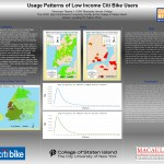 2015 National Conference for Undergraduate Research at Spokane Washington Usage Patterns of Low Income Citi Bike Users Tissera