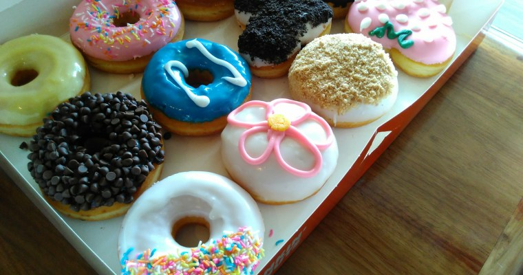 We did Dunkin donuts!