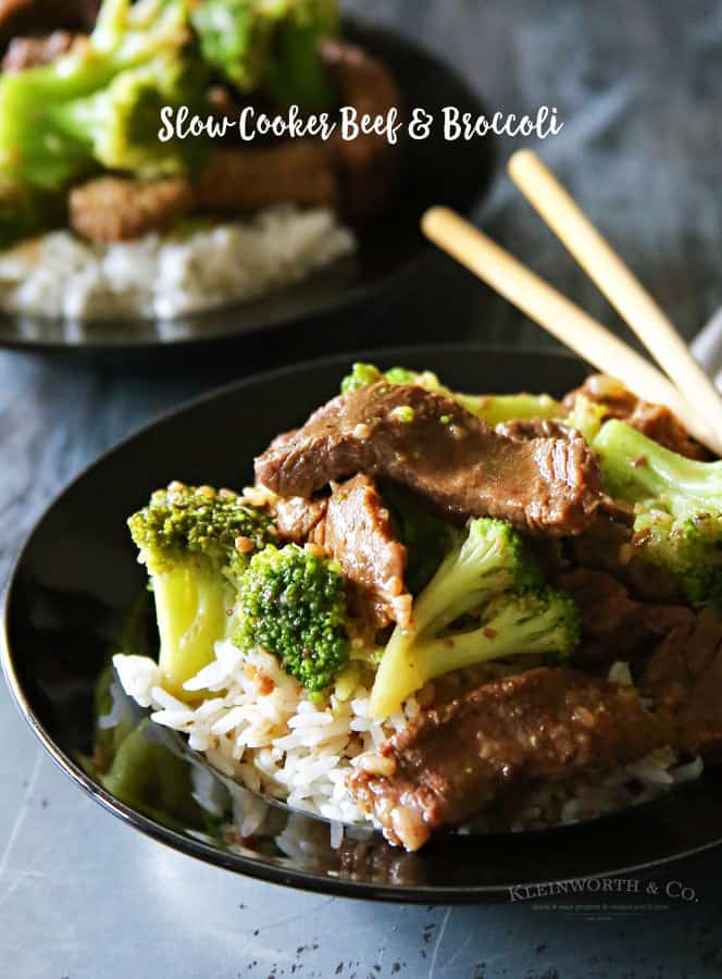 Slow Cooker Beef Broccoli