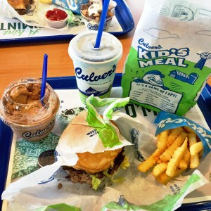 culver's midwest fast food concrete shake