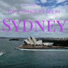 Top 5 Things To See in Sydney // Cupcake N Dreams