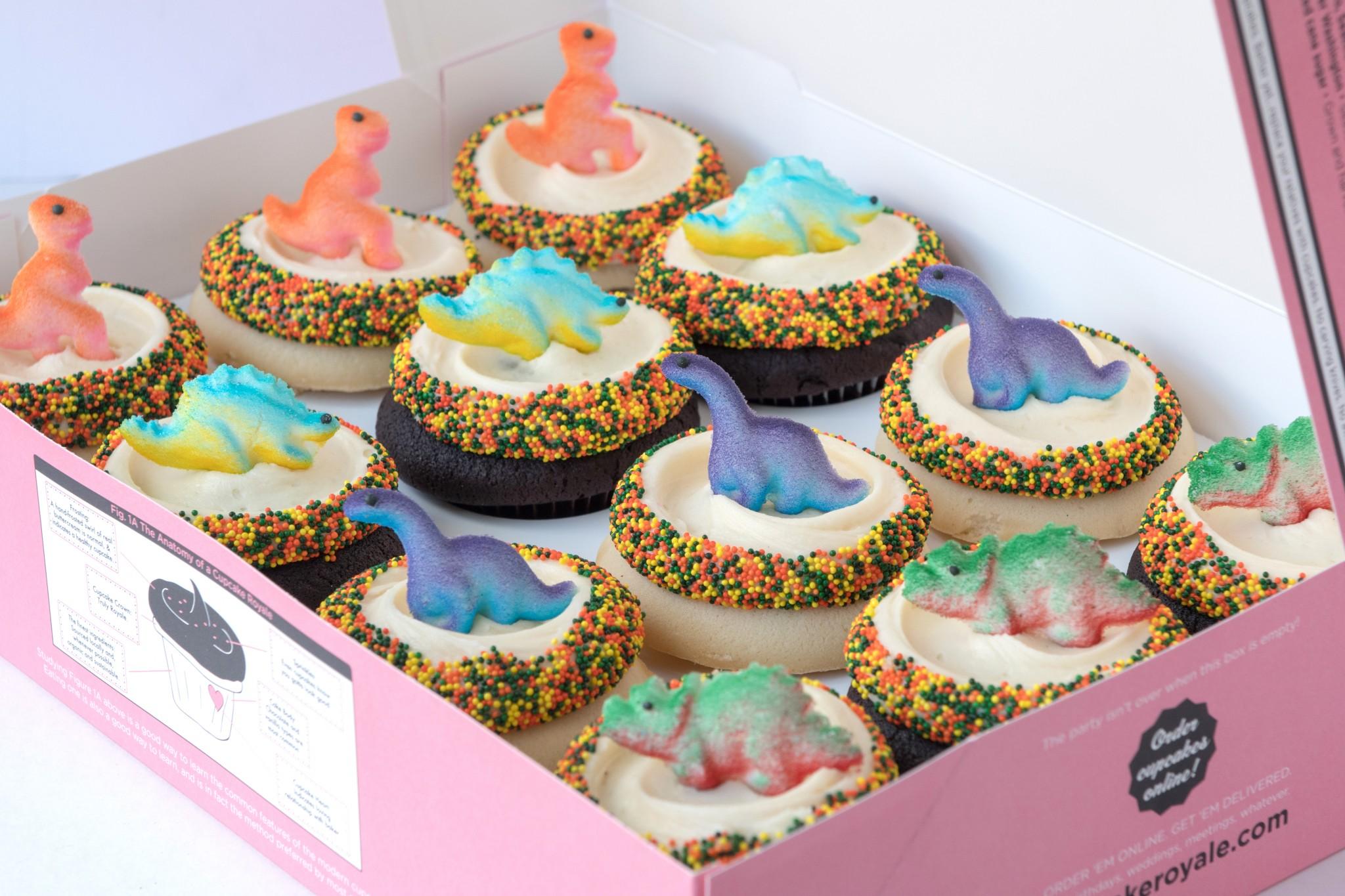 Dinosaurs Cupcake Royale