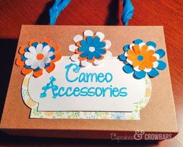 Upcycled Birchbox Silhouette Cameo Storage | Cupcakes&Crowbars