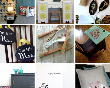 20 Beautiful Projects & Room Makeovers Using Stencils