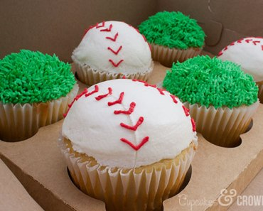 End of Season Baseball Cupcakes | Cupcakes&Crowbars
