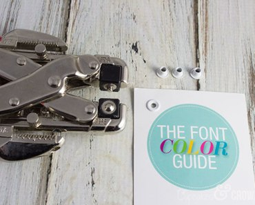 How to Keep Your Initials Inc Font Card From Tearing | Cupcakesandcrowbars