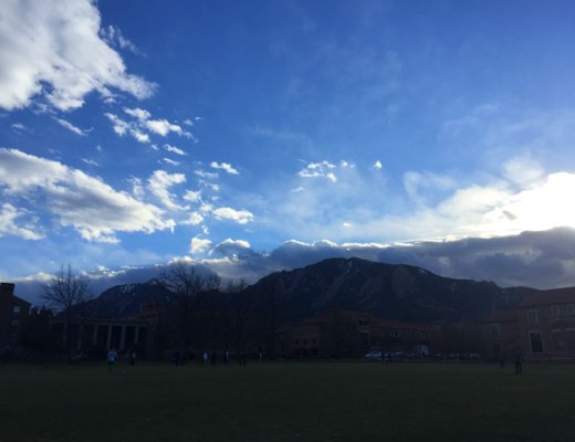 Cloud Front Over the Flatiron Mountains | www.cupcakesandthecosmos.com