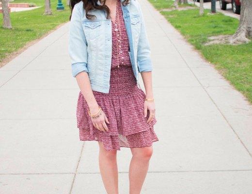 How to style boho chic into everyday wardrobe. | www.cupcakesandthecosmos.com