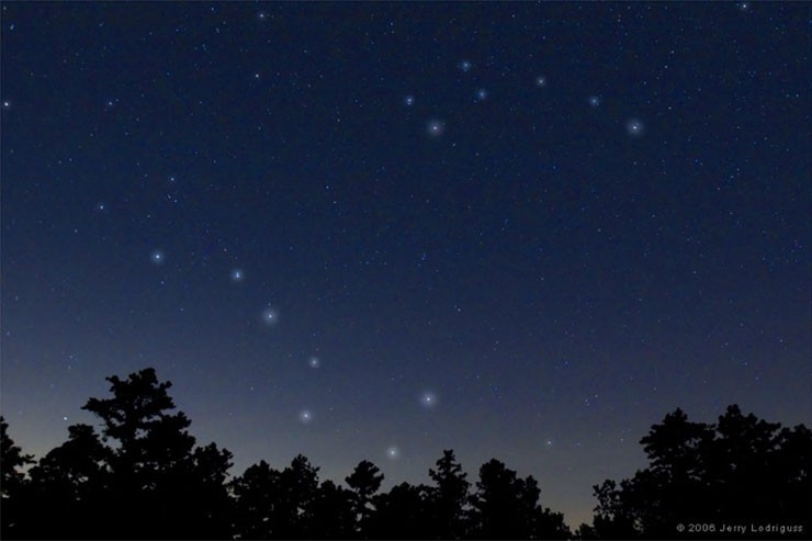 Big Dipper Constellation | www.cupcakesandthecosmos.com