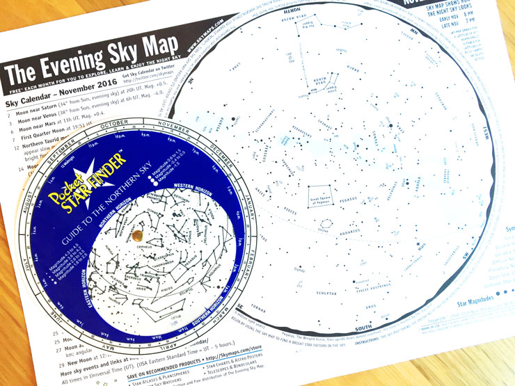 How To Use A Star Chart | www.cupakesandthecosmos.com