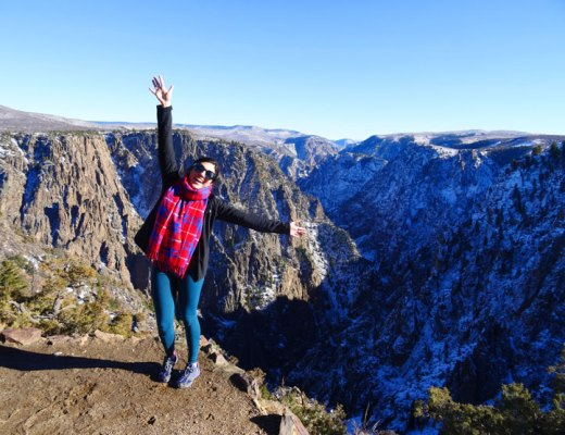 Black Canyon of the Gunnison National Park in Colorado | www.cupcakesandthecosmos.com