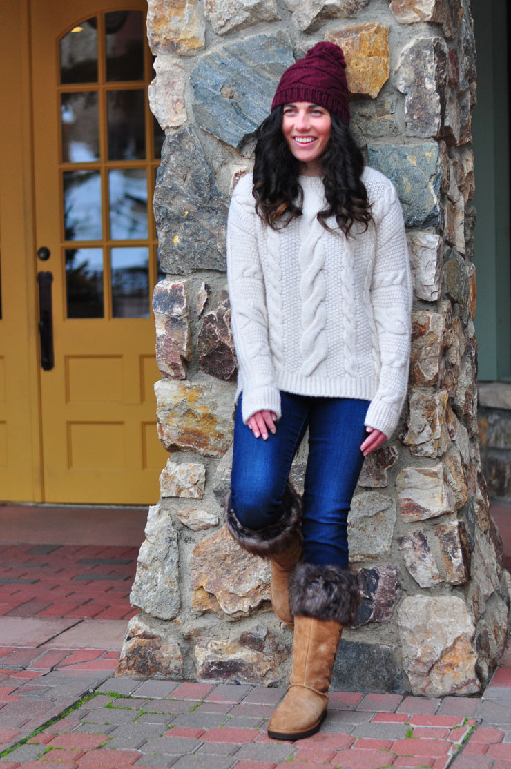 Cozy Knits in Beaver Creek | www.cupcakesandthecosmos.com