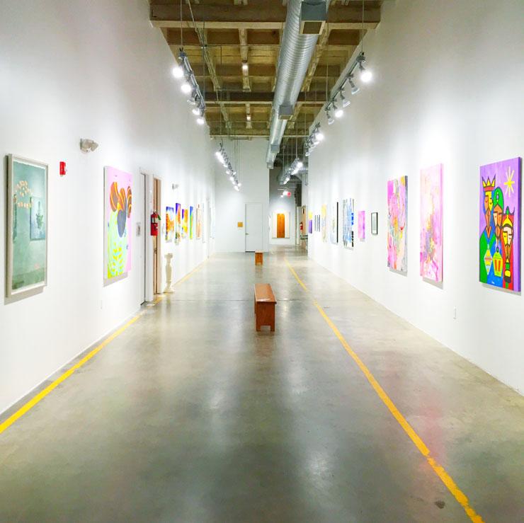 Second Saturdays Art Show on Spring Street in Houston, Texas | www.cupcakesandthecosmos.com