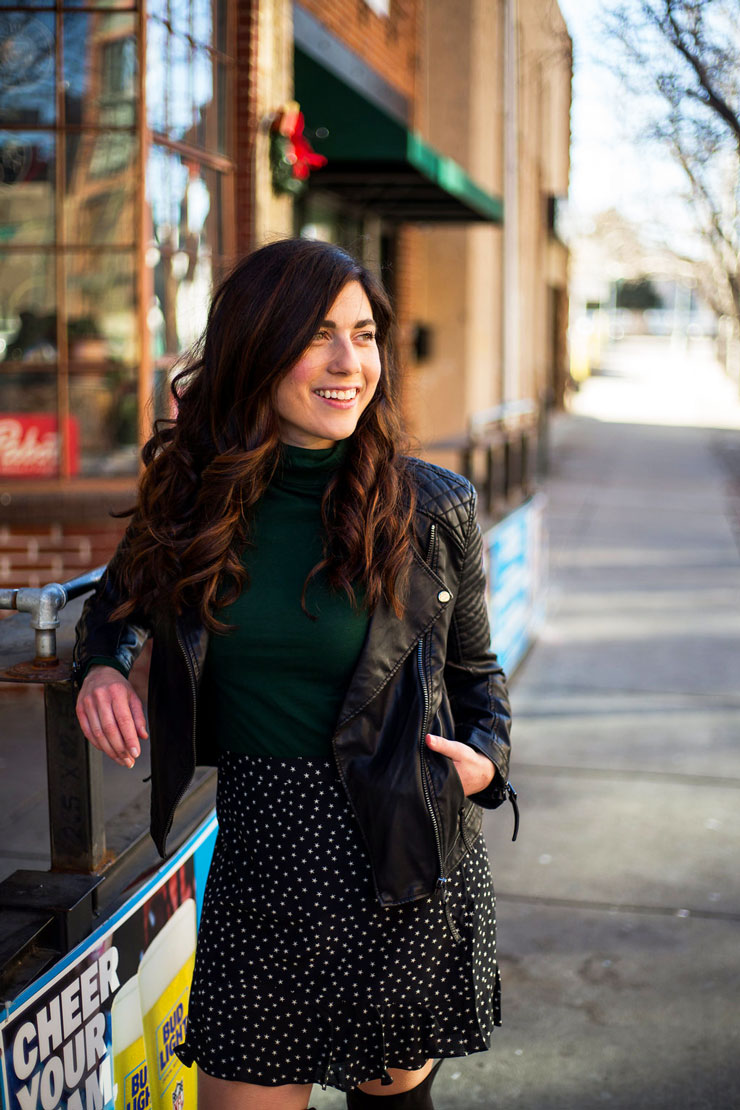 An edgy date night look in winter | www.cupcakesandthecosmos.com