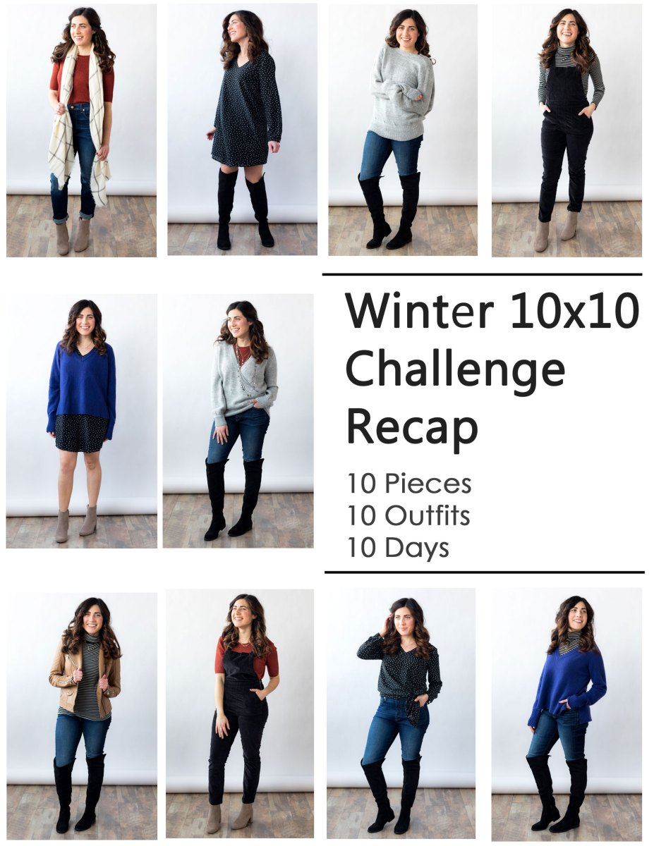 Winter 10x10 Challenge Outfits + Recap