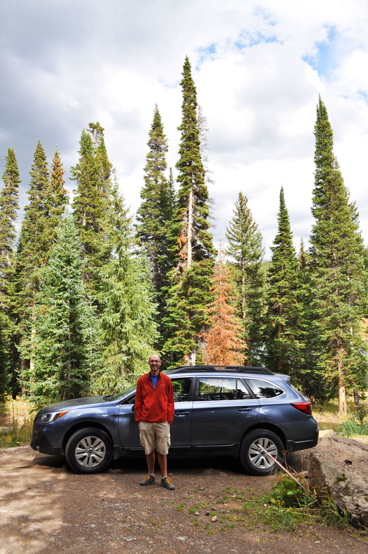 Camping in Routt National Forest in Colorado | www.cupcakesandthecosmos.com