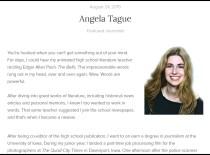 Angela Tague on Newsmodo