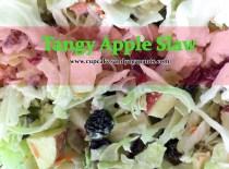 Tangy Apple Slaw Recipe