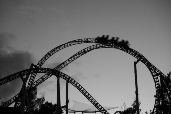 I feel like I've stepped off a roller coaster. A rickety, wooden, squealy ride that confirms you will eventually be flung from the highest peak at top speed. Although my feet are back on firm ground, the aftermath is jolting. My head is spinning and all I want is to forget that I ever stepped inside the amusement park.