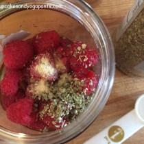 Chunky Raspberry Vinaigrette Salad Dressing (Gluten Free, Vegan, Dairy Free, AIP)