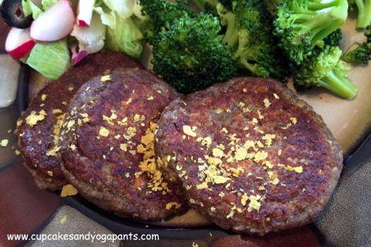 Easy Lentil Mushroom Patties (Vegan, Gluten Free) #cupcakesandyogapants #choosehealthy